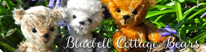 Bluebell Cottage Bears, site logo.