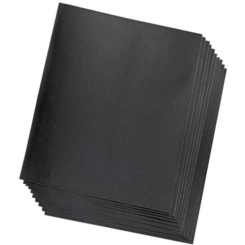 <!-- 025 -->Wet and Dry Sandpaper Sheets P320 (Qty 10)
