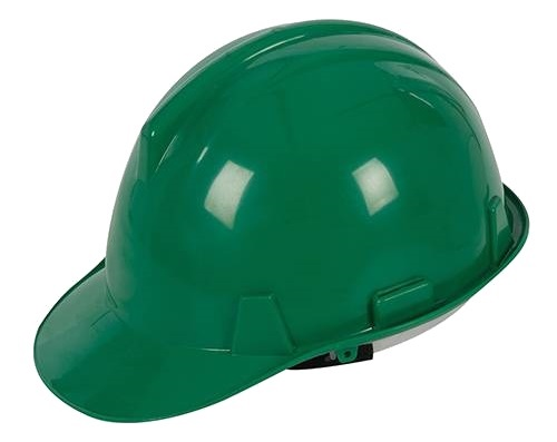 Safety Hard Hat Green BSEN397 (Pack qty 1)