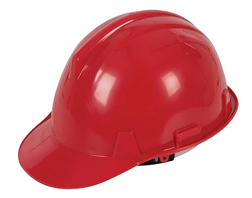 Safety Hard Hat Red BSEN397 (Pack qty 1)