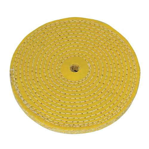 150mm Spiral Stitched Sisal Wheel