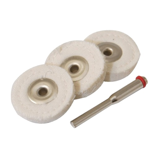 Cotton Polishing Wheels 25mm
