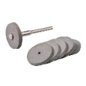Rubber Polishing Wheels 22mm