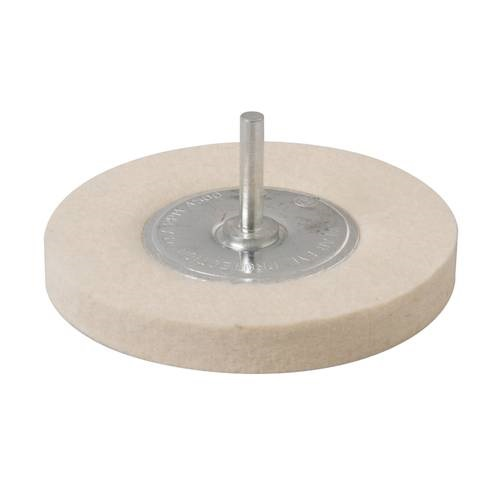 Felt Polishing Wheel Hard 100mm