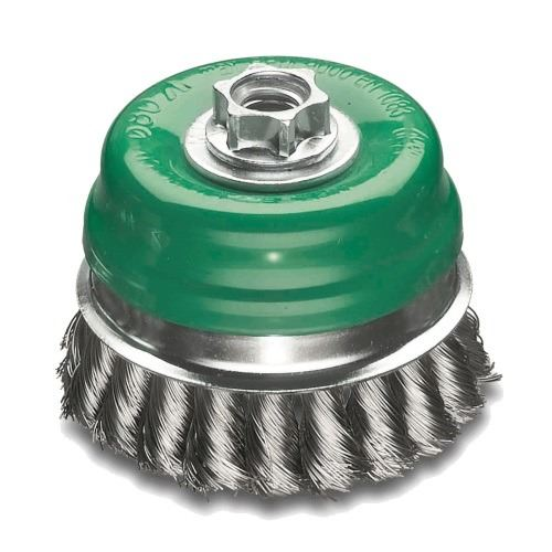 Stainless Steel Twist Knot Cup Brush 100mm