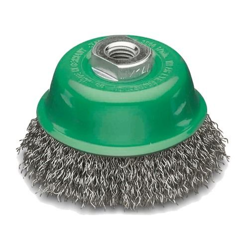 Stainless Steel Wire Cup Brush 60mm x M14