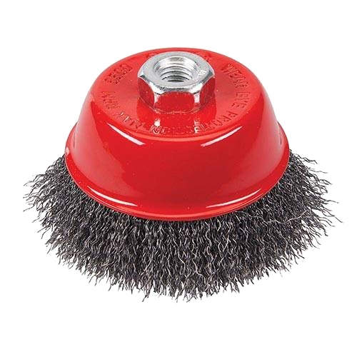 <!-- 010 -->Steel Wire Cup Brush 65mm x M14