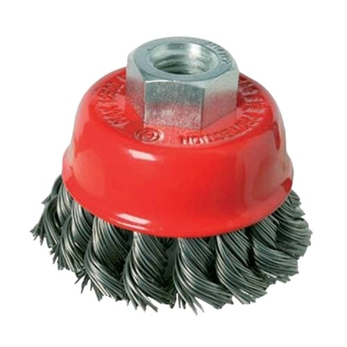 <!-- 050 -->Twist Knot Wire Cup Brush 100mm x M14