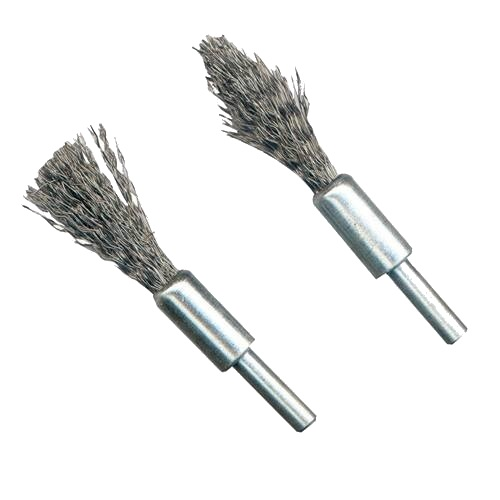 <!-- 005 -->2 Pce De-Carb Wire Brush Set