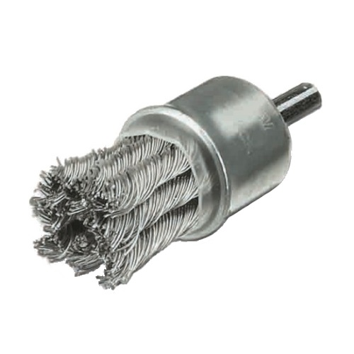 <!-- 052 -->Twist Knot Wire End Brush 22mm (Industrial Specification)