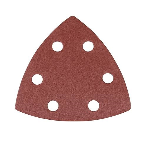 Detail Sanding Pads 90mm 6 Hole P80 (Qty 10)