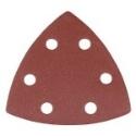 Detail Sanding Pads 90mm 6 Hole P80 (Qty 10)