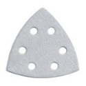 Detail Sanding Pads 90mm 6 Hole P120 Stearated (Qty 10)