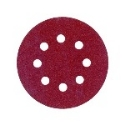 Hook and Loop Sanding Discs 115mm 8 Hole P60 (Qty 10)