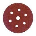 <!-- 020 -->Hook and Loop Sanding Discs 150mm 7 Hole P80 (Qty 10)