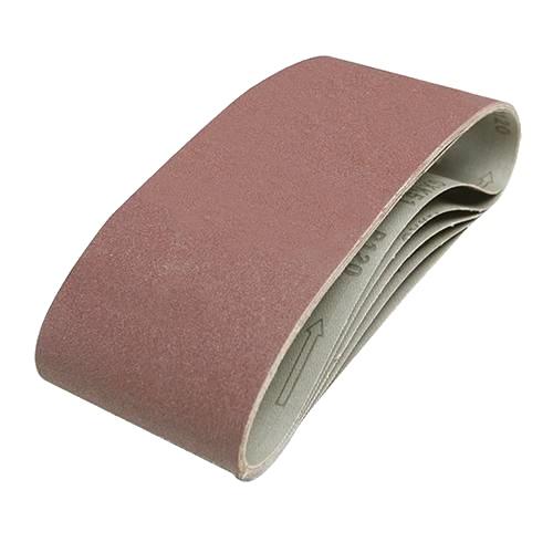 Sanding Belts 100mm x 610mm - P80 (Qty 10)