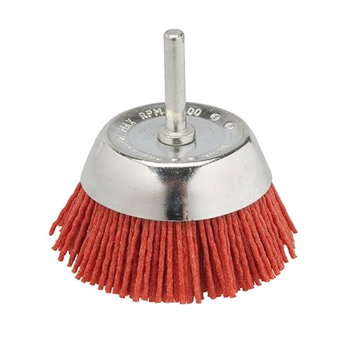 Abrasive Nylon Brushes with Arbor