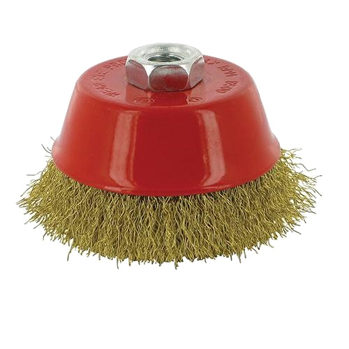 <!-- 010 -->Brass Wire Cup Brush 75mm