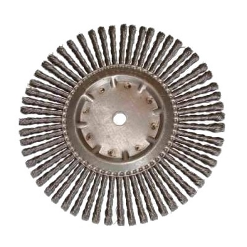 Joint Cleaning Wire Brush 300mm x 6mm width x 20mm Bore