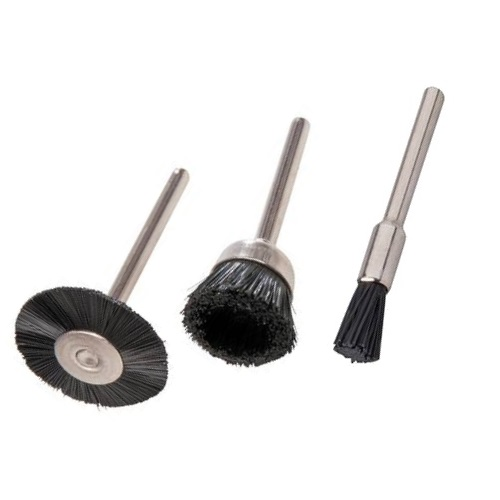 3 Pce Nylon Filament Mini Brush Set
