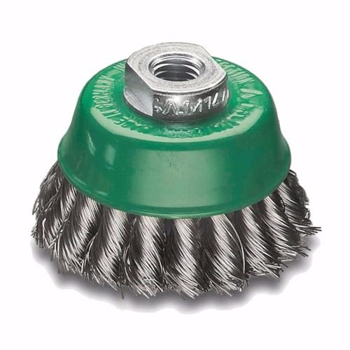 Stainless Steel Twist Knot Cup Brush 75mm