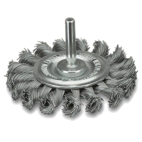<!-- 062 -->Twist Knot Wire Wheel 75mm (Industrial Specification)