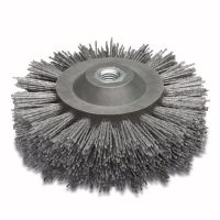 Abrasive Nylon Wheel Brush 140mm x 58mm - M14