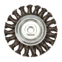 Twist Knot Wire Wheel 100mm x M14 (Industrial Spec)