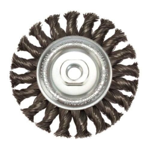 <!-- 068 -->Twist Knot Wire Wheel 100mm x M14 (Industrial Spec)