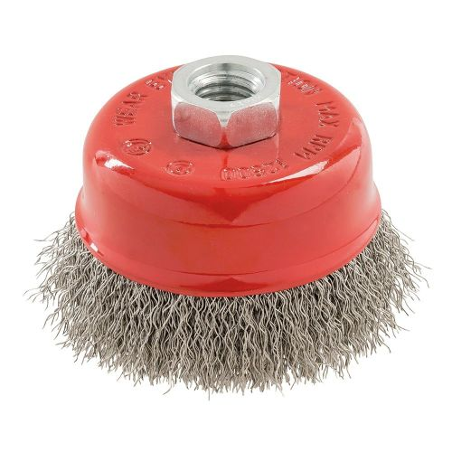 <!-- 010 -->Stainless Steel Wire Cup Brush 75mm x M14