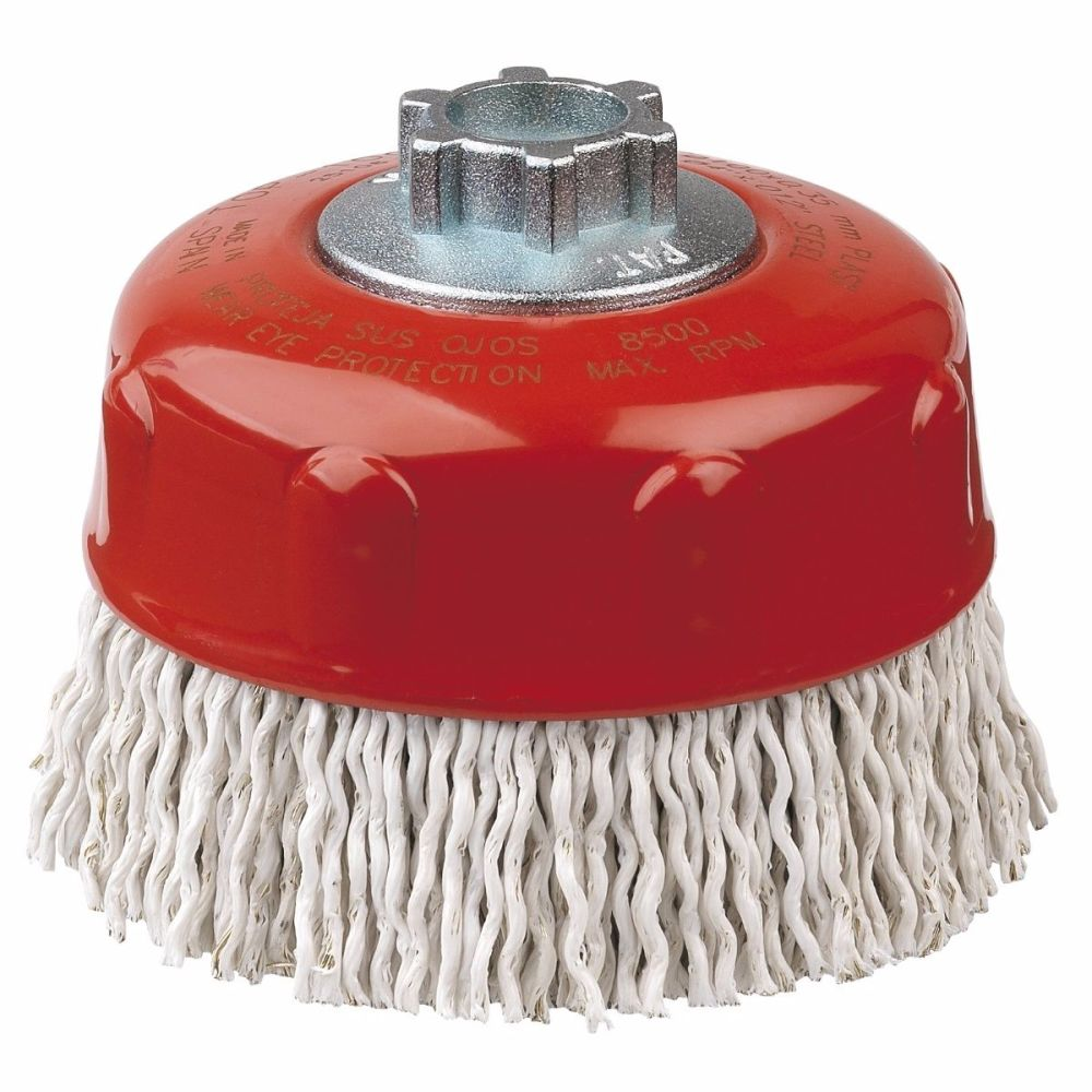 <!-- 006 -->Laminated Steel Cup Brush 100mm