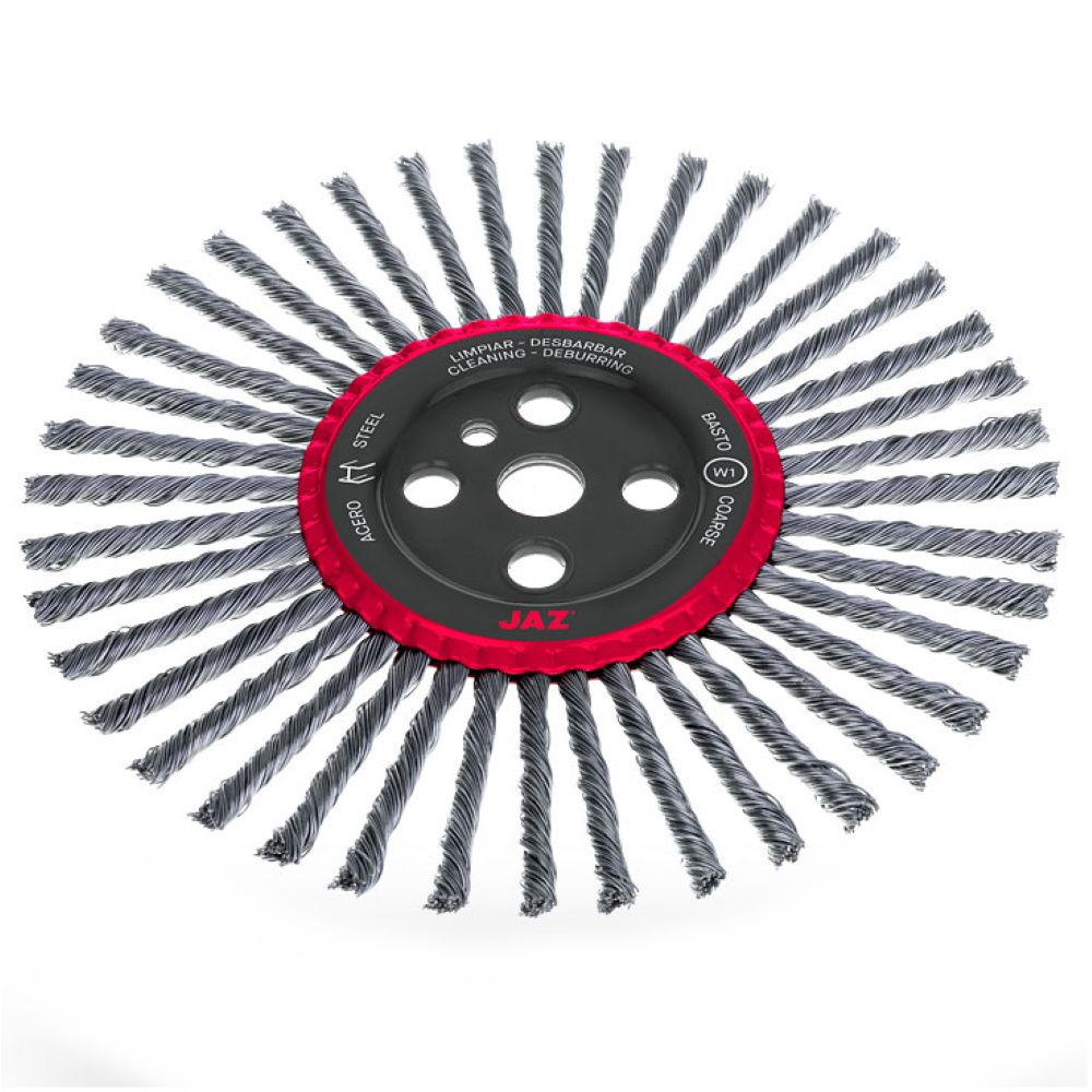 <!-- 025 -->Joint Cleaning Wire Brush 300mm x 10mm width x 25.4mm Bore