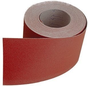 <!-- 015 -->115mm x 25M Hook & Loop Sandpaper Roll P80