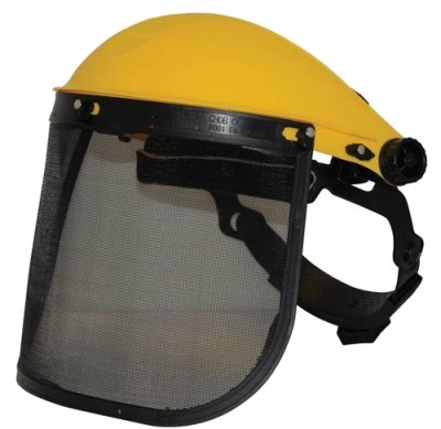 Full Face Safety Visor - Mesh Screen