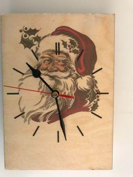 Father Christmas Clock