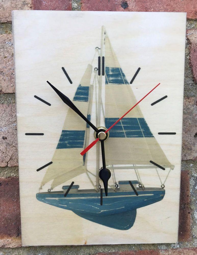 Sailing Boat Clock