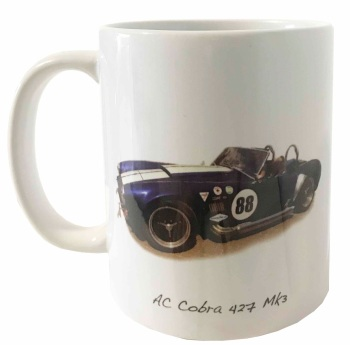 AC Cobra Mk3 Ceramic Mug - Ideal Gift for the American Car Enthusiast - Free UK Delivery