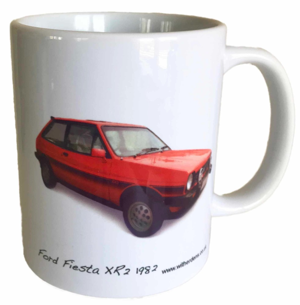 Ford XR2 1982 Ceramic Mug - Ideal Gift for the Car Enthusiast