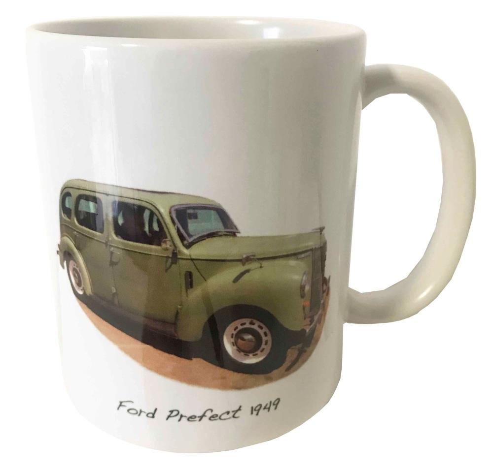 Ford Prefect Saloon 1949 - Ceramic Mug - Car Memories from the Last Century