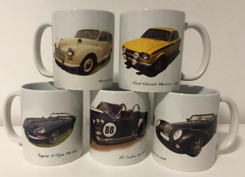 Classic Car Mugs & Tankards