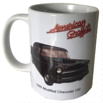 Chevrolet 150 (Modified) 1955 Ceramic Mug - American Graffiti - Ideal Gift for the Film or Car Enthusiast