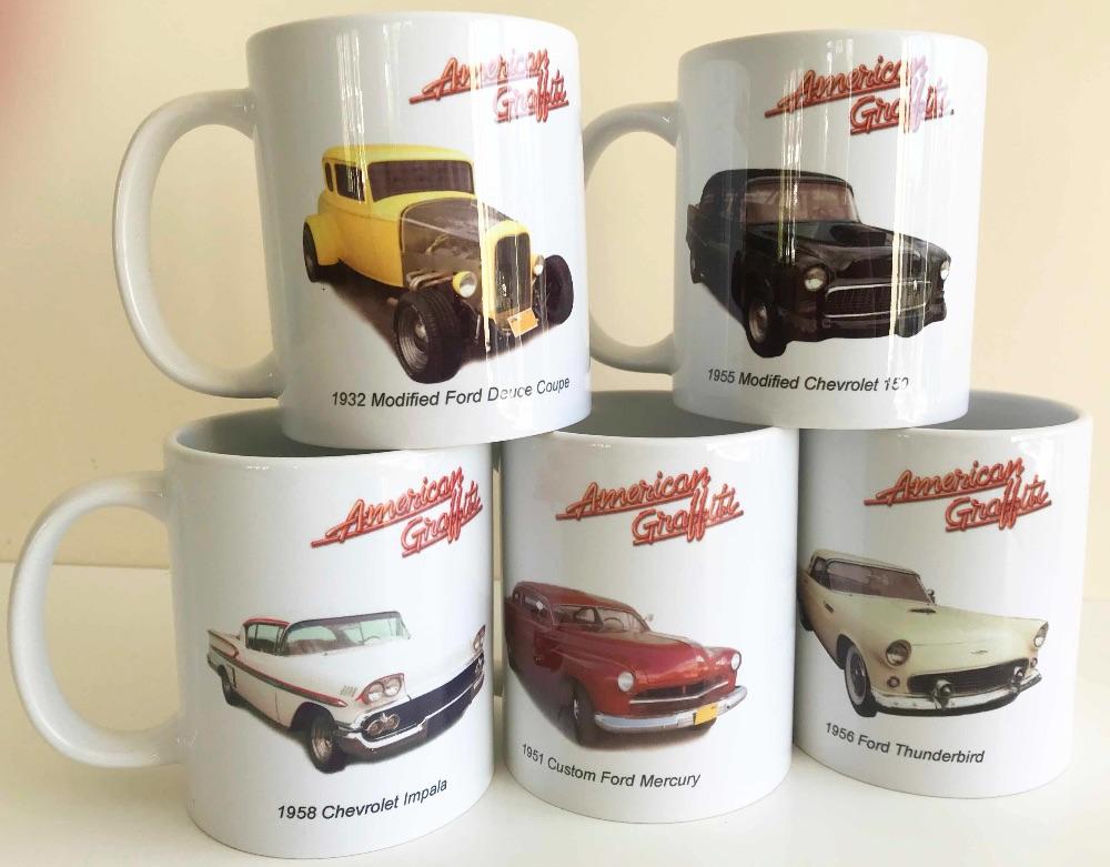 TV and Film Car Mugs