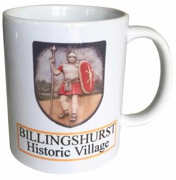 Billingshurst Village  - Souvenir Ceramic Mug - Free UK Delivery