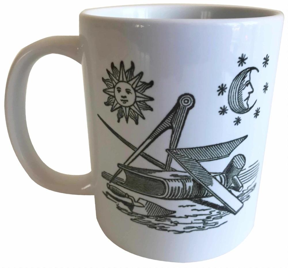 Landmarks of the Order (1) - Masonic Ceramic Mug