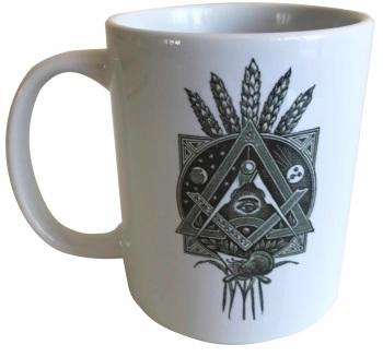 Masonic Symbolism - 11oz Masonic Ceramic Mug