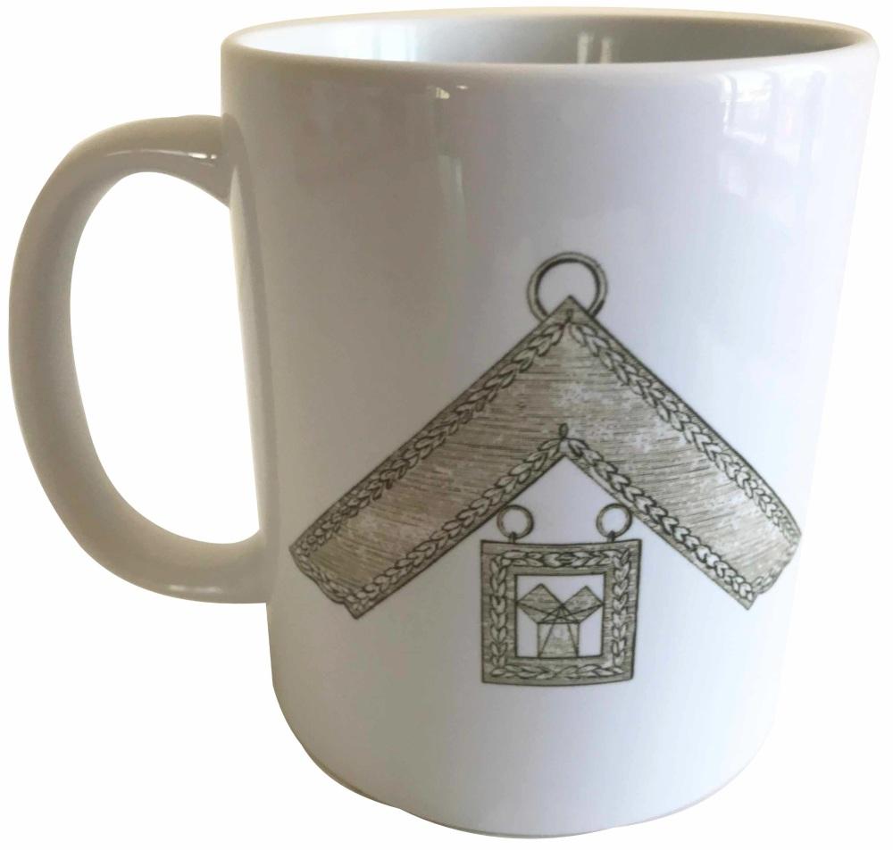 Past Master - Masonic Ceramic Mug