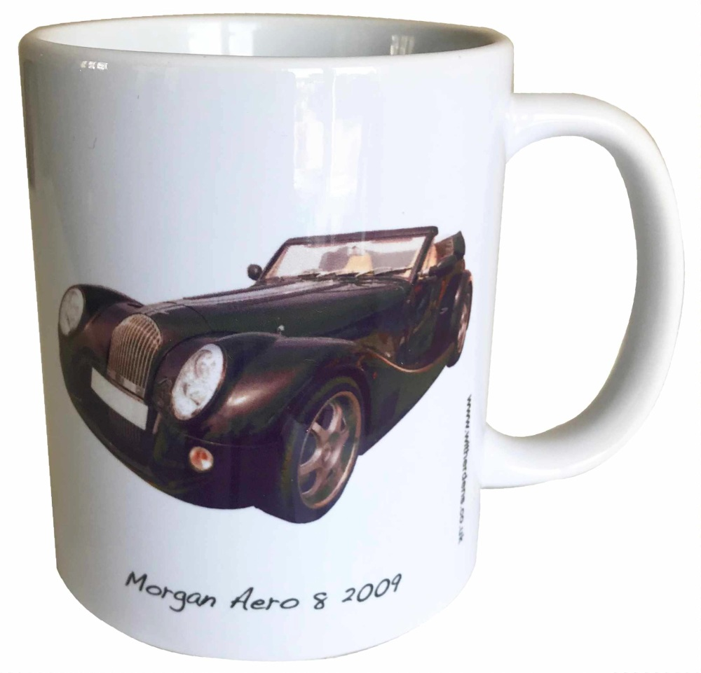 Morgan Aero 8 2009 Ceramic Mug - Ideal Gift for the Sports Car Enthusiast -