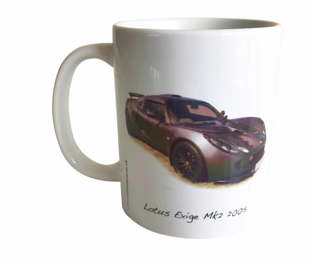 Lotus Exige Mk2 2005 - Ceramic Mug - Ideal Gift for the Lotus Car Enthusias