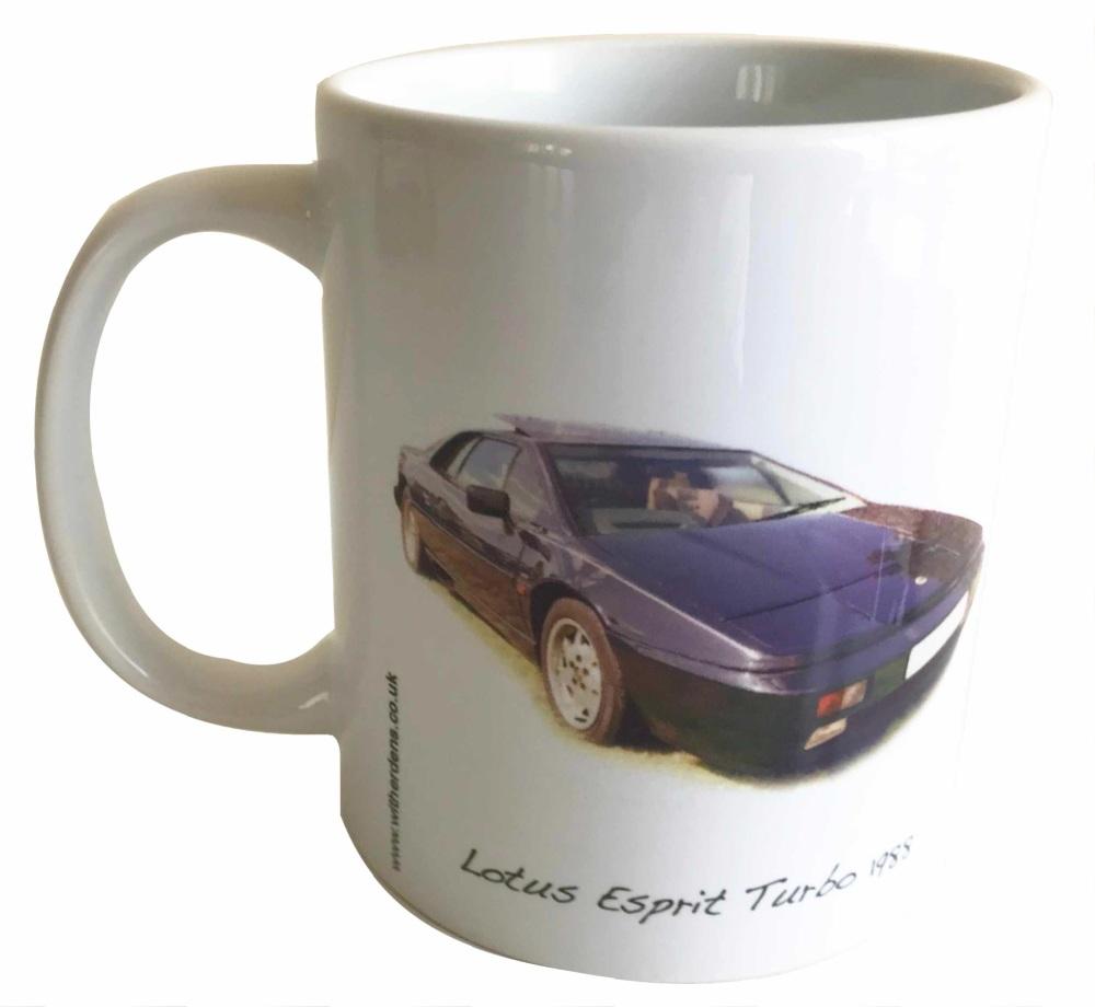 Lotus Esprit Turbo 1988 - Ceramic Mug - Ideal Gift for the Lotus Car Enthus
