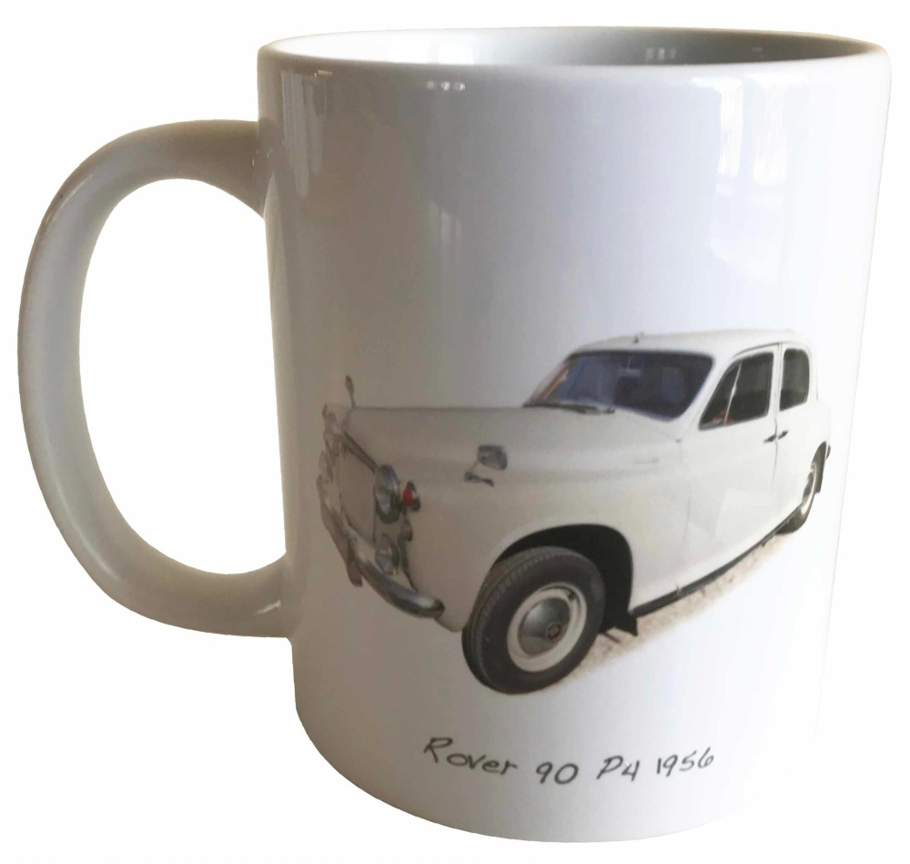 Rover 90 P4 1956 -  Ceramic Mug - Ideal Gift for 1950s Enthusiast - Free UK